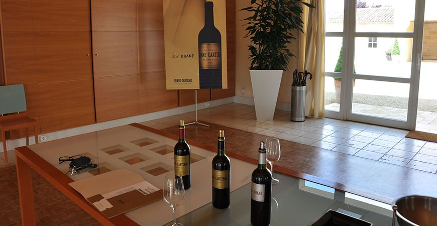 Wine tasting at Chateau Brane Canteac